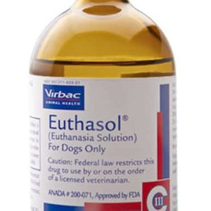 Buy EUTHASOL Solution for Injection (400mg/ml, 100ml)