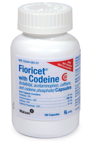 Buy Fioricet With Codeine Capsules